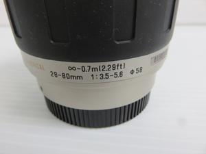 TAMRON AF ASPHERICAL レンズ 型式
