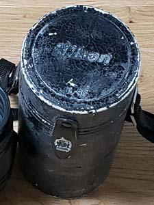 ニコン レンズ ケース 経年劣化