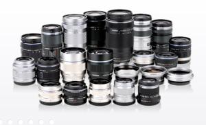 カメラレンズの種類
