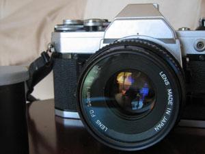 一眼レフカメラに関心を持ち始めた学生時代